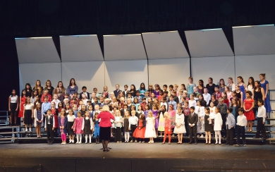 Choral Festival at Mountain View High School 2014
