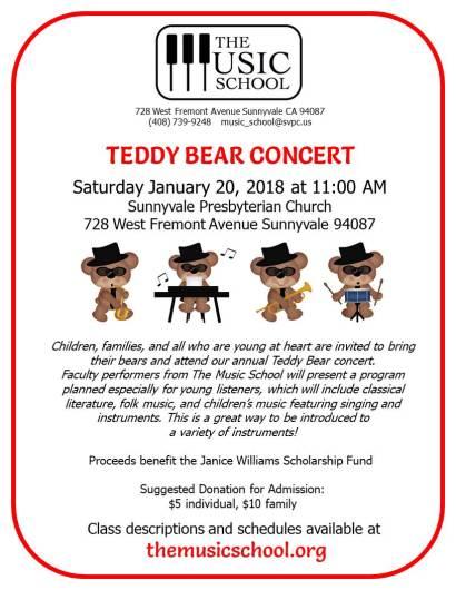 TB concert flyer