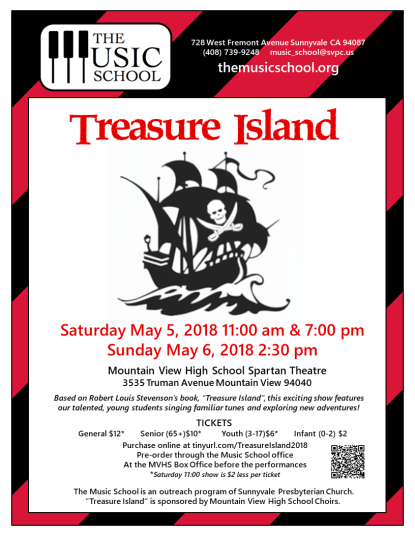 Treasure Island flyer