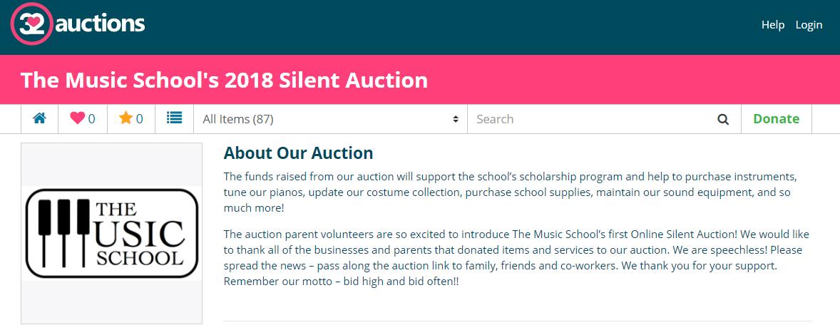 Auction snip