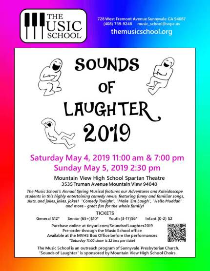 Sounds of Laughter color flyer